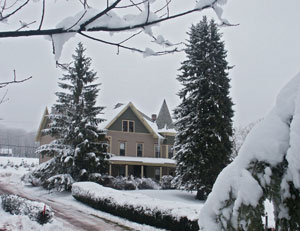 belleayre lodging - BnB cover with snow
